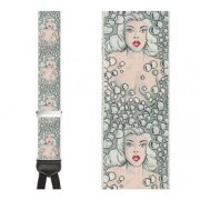 Limited Edition Bubbles Brace: 100% Woven Silk