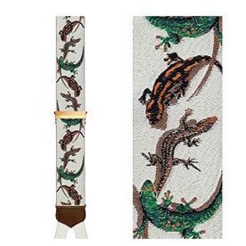 Limited Edition Commander Salamander Brace: 100% Woven Silk
