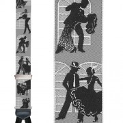 Limited Edition May I Have This Dance Brace: 100% Woven Silk