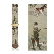 Limited Edition Fox and Feathers Brace: 100% Woven Silk