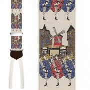 Limited Edition Mademoiselle Brace: 100% Woven Silk