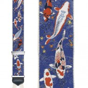 Limited Edition Don't Get Koi with Me Brace: 100% Woven Silk