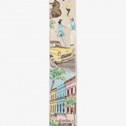 Limited Edition Hola Cuba Brace: 100% Woven Silk
