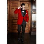 """Bradford"" Red Tuxedo"