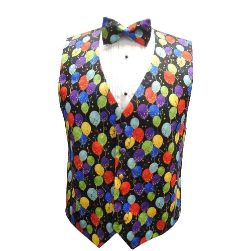 Balloons Vest and Tie