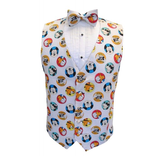 Mickey and Friends Tuxedo Vest and Bow Tie Set