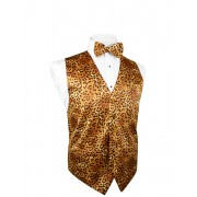 Safari Jaguar Vest and Tie Set