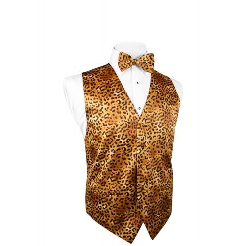 Safari Jaguar Vest and Tie Set