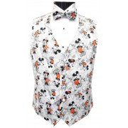 Mickey and Minnie Mouse Tuxedo Vest and Bow Tie Set
